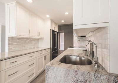Kitchen Cabinets and Tile Work