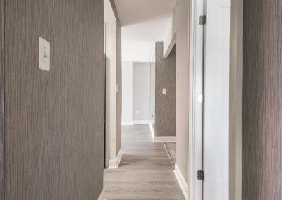 Hallway between Rooms