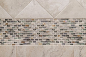 Shower Tile Closeup
