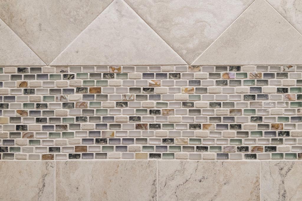 Shower Tile Closeup